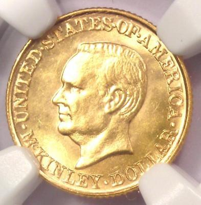 1917 McKinley Commemorative Gold Dollar Coin G$1 - NGC Uncirculated Detail (UNC)