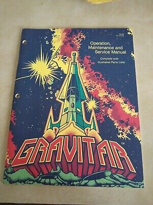 Gravitar Schematic Package and Arcade Manual