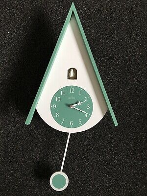 John Lewis Acctim Isky Cuckoo Wall Clock In Green