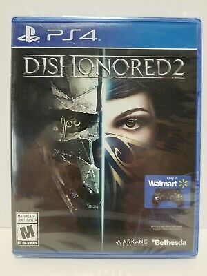Dishonored 2 with Skin: PS4 video game - Brand New and sealed