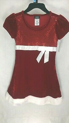 NEW Girl's Christmas Dress Size M(7-8)  Holiday Editions