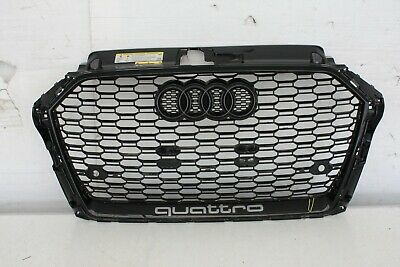 Audi Rs3 Saloon Front Bumper Grill 8V5853651R Genuine 2017