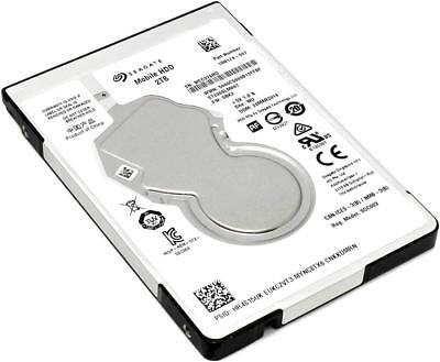 """Seagate Mobile ST2000LM007 2 TB 2.5"""" SATA 6Gb/s Laptop PS4  Hard Drive 7mm"""