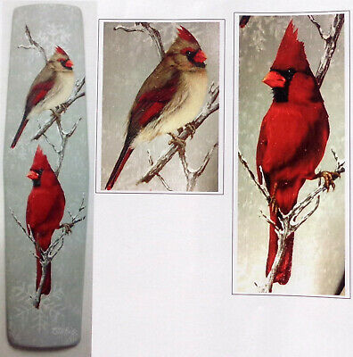 "Dorothy Whisenhunt tole painting pattern ""Male & Female Cardinals"""