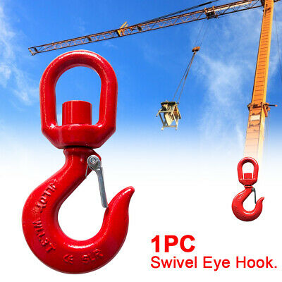 1 Ton Crane Accessories Swivel Eye Hook Lifting Alloy Steel Shackle Drop Forged
