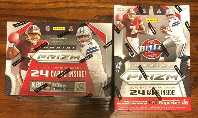 2019 Panini Prizm NFL Football Trading Cards Blaster Box Factory Sealed 6 Packs!