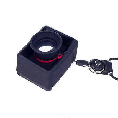 3.2X Black Magnifier Viewfinder LCD DSLR Accessory Outdoor Shooting Foldable