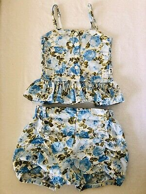 Lacey Lane Delilah Puckers and Cami - Size 3 EUC