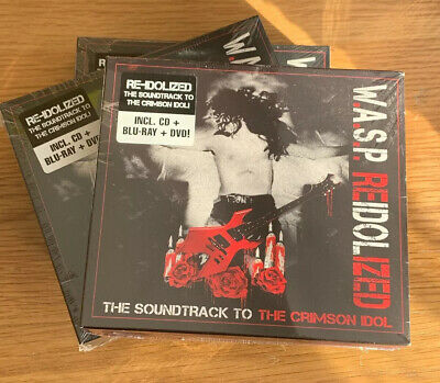 W.A.S.P. – Reidolized (The Soundtrack To The Crimson Idol) CD/DVD/BLU-RAY WASP