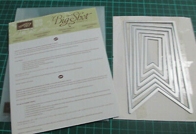 Stampin Up  Banners Framelits Die
