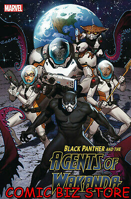 Black Panther And Agents Of Wakanda #3 (2019) 1St Printing Molina Main Cover