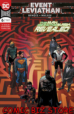 Event Leviathan #6 (Of 6) (2019) 1St Printing Alex Maleev Main Cover Dc Universe
