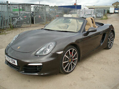 Porsche Boxster S 3.4 ( 315bhp ) PDK DAMAGED REPAIRABLE SALVAGE ( 2013 13 )