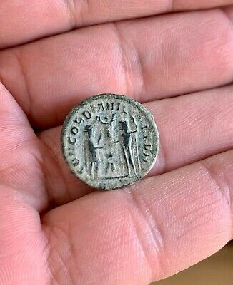 Late Roman Bronze Follis Of Maximianus (284-305). A Nice Coin!
