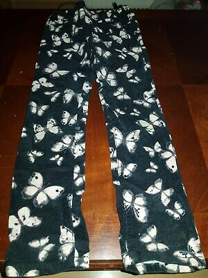 Pretty butterfly print H&M cord trousers