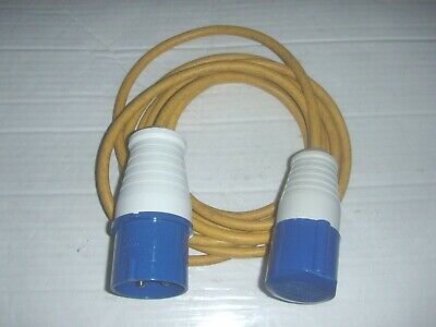 32 AMP To 16 AMP 3 PIN COMMANDO PLUG TO SOCKET 240V Converter Changeover Cable