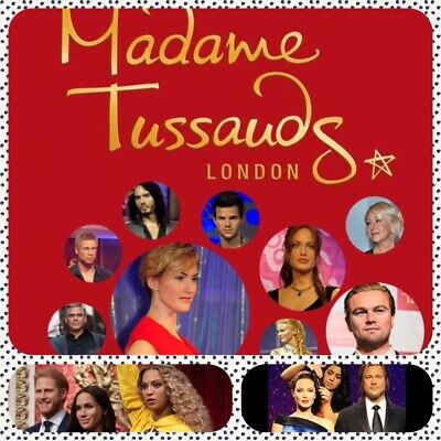 2 X Madame Tussauds E-Tickets / Pick Your Own Date !