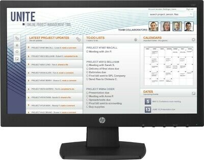 "HP V197 18.5"" 1366 x 768 5ms VGA/DVI LED Monitor (V5J61AT#ABU)"