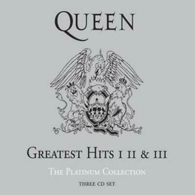 Queen Greatest hits 1 2 & 3 Platinum Collection 3 x CD