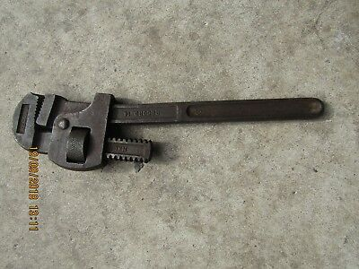 Record 14 Vintage,English made Plumber/Engineers Adjustable Wrench Pipe Spanner