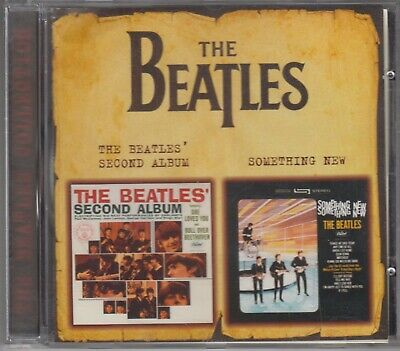 The Beatles Cd Second Album / Something New 2000 Russia