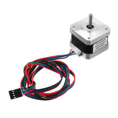 Nema 17 Stepper Motor Bipolar 4 Leads 34Mm 12V 1.5 A 26Ncm(36.8Oz.In) 3D Pr E3Q8