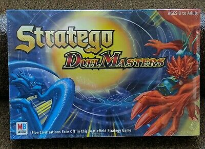 Stratego Duel Masters Milton Bradley Board Game New In Factory Sealed Box