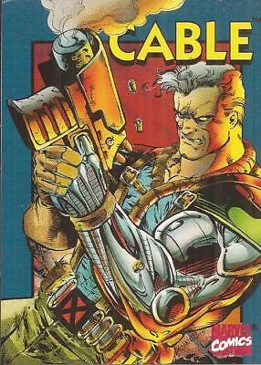 1994 Marvel Comics Cable card(in mini case) X-Men Crunch 'N Munch giveaway Rare!
