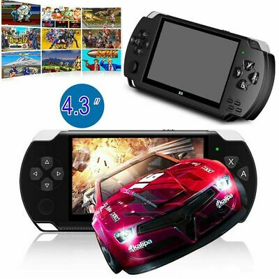 "X6 8G 64Bit 4.3"" PSP Portable Handheld Classic Game Console Player Video Gift UK"