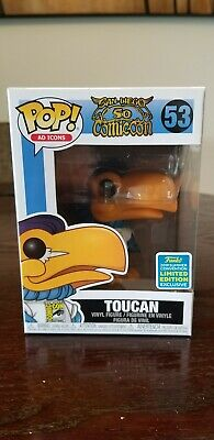 Funko Pop! #53 Toucan SDCC Ad Icons Shop Exclusive Limited Edition Brand new