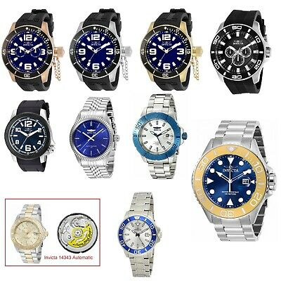 Invicta Men's Pro-Diver Specialty Collection Quartz Or Automatic Movement Watch