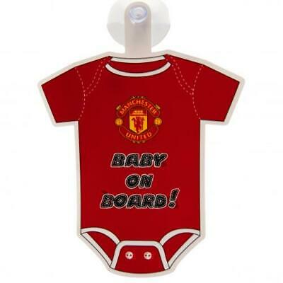Manchester United FC Baby On Board Sign Boys CHRISTMAS Birthday Present GIFT