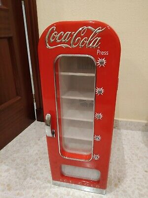 Nevera Dispensadora Latas Coca-Cola Retro Vintage