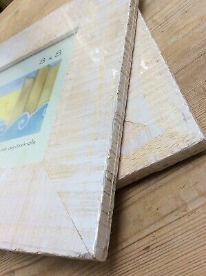 A Pair Of Large White Drift Wood Picture Frames(35cm Sq), ,Shabby Chic,Un-Opened
