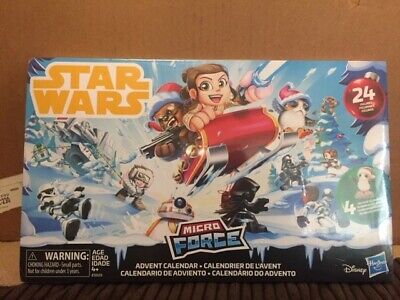 Star Wars Micro Force Advent Calendar 24 Figures Disney