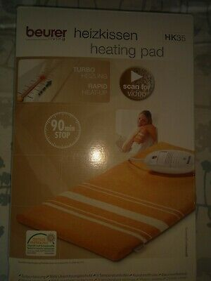 Beurer Electronic Therapeutic Heating Pad with Turbo Fast Heat Up
