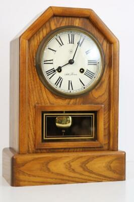 CHIMING SHELF CLOCK modern take on antique classic HERMLE for SETH THOMAS works