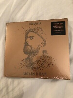 Tom Walker What A Time To Be Alive Deluxe Edition Cd Brand New And Sealed