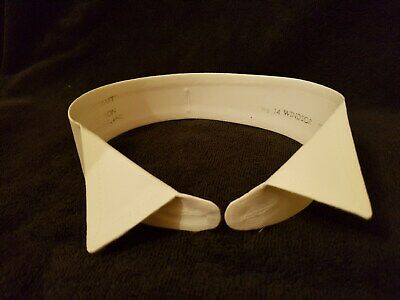 Mens Formal Shirt Wing Collar - Size 15 -  Windsor Style