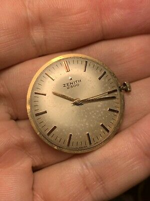 Zenith Movement Cal 2532 Not Working For Parts Repair