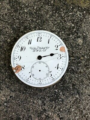 Pocket Watch Quarter Repeater Not Working For Parts Repair