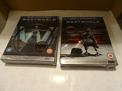 WESTWORLD Seasons 1 & 2 Blu-ray Complete Boxsets FREE 1st Class Tracked Delivery