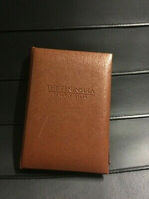 New Agenda THE PENINSULA Beverly Hills Gift Leather Case