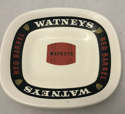 Vintage Watneys Red Barrel Beer Bar Dish - Ashtray. Great Condition.