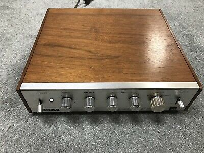 Vintage Sony SQA-200 SQ Decoder/Stereo Solid State Amplifier *Tested Working*