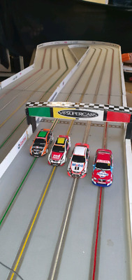 Market / Fete stall business . Mobile slot car track