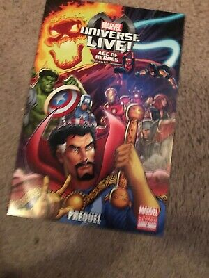 MARVEL UNIVERSE LIVE AGE OF HEROES PRELUDE 2 GIVEAWAY PROMO NM AMAZING SPIDERMAN