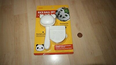 JAPAN DAISO Rice Ball Mold Panda Shape Nori Seaweed Punch Tool Onigiri Bento