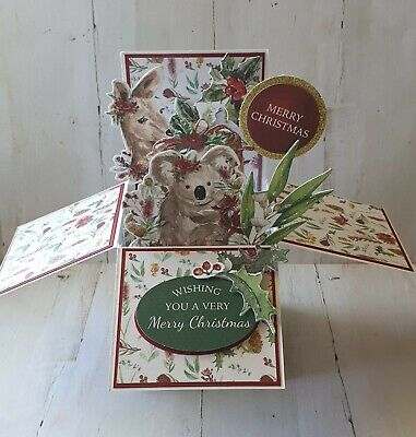 Handmade Card in a Box  -  Aussie Christmas