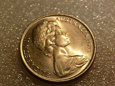 1973 Australian 10 cent coin Decimal Currency